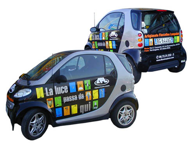Wrapping decorazione parziale Smart